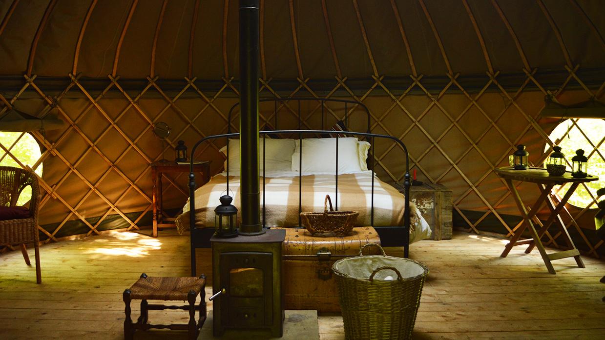 Badgers Yurt