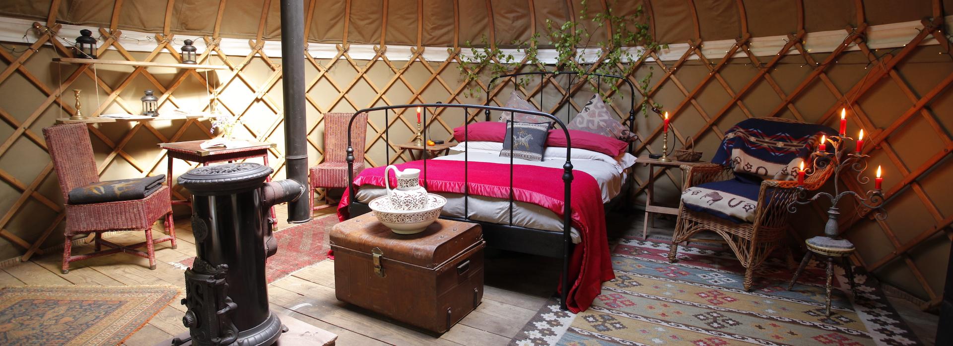 Birch Yurt
